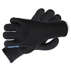 Перчатки 5-ти палые мокрого типа нейлон/о.п. 5мм