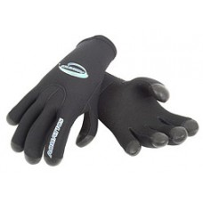 Перчатки 5-ти палые мокрого типа латекс нейлон/о.п. 5мм