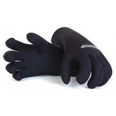 Перчатки 5-ти палые мокрого типа (с кевларовым покрытием) нейлон/нейлон 5мм