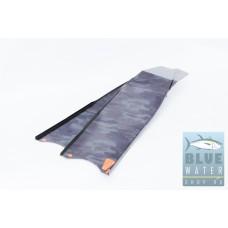 Карбоновые лопасти для подводной охоты LeaderFins Camo Black Carbon (технология сэндвич)