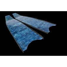 Лопасти Leaderfins BLUE CAMO STEREOBLADES